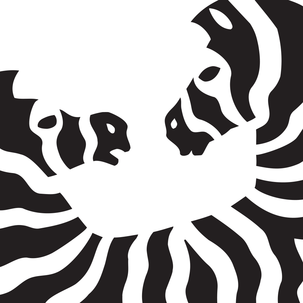 Zebra logo turned n cropped